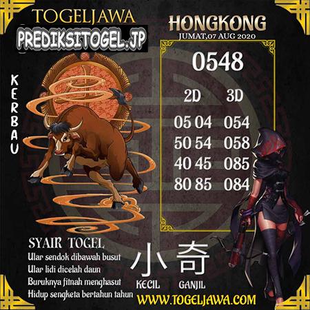 Prediksi Togel Jawa Hongkong HK Jumat 07 Agustus 2020