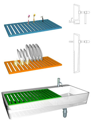 Creative Dish Drainers and Modern Dish Racks (15) 6