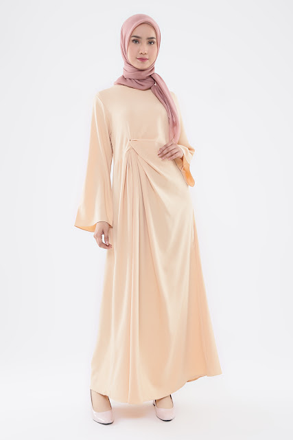 Model Gamis Earthy Color