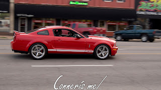 Draggin Douglas Red Ford Mustang GT500 1