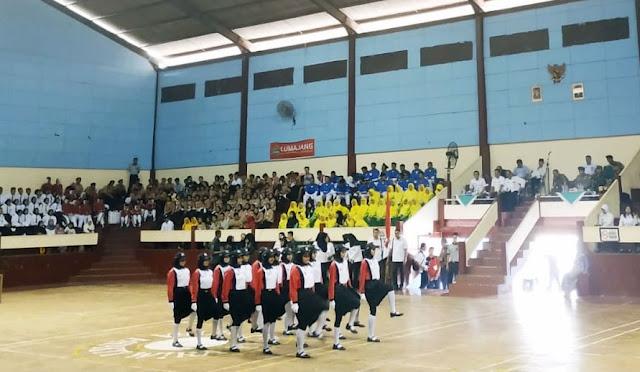 Lomba Kreasi Baris Berbaris 2019