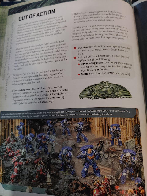 Cruzada Fuera de Combate Warhammer 40,000