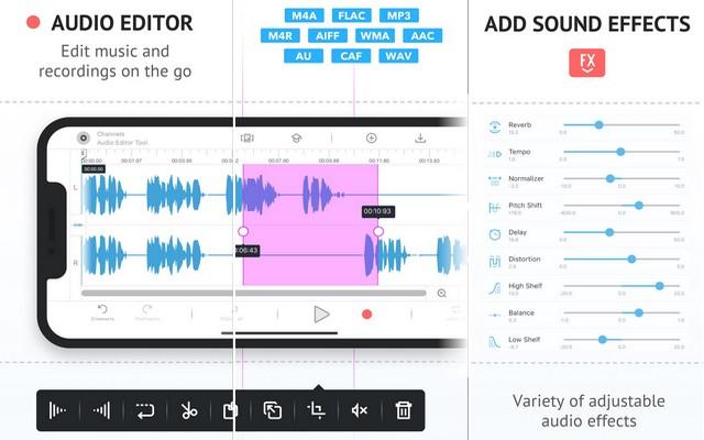 برنامج تعديل الصوت للغناء للايفون