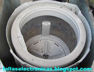 retirar tambor de lavadora