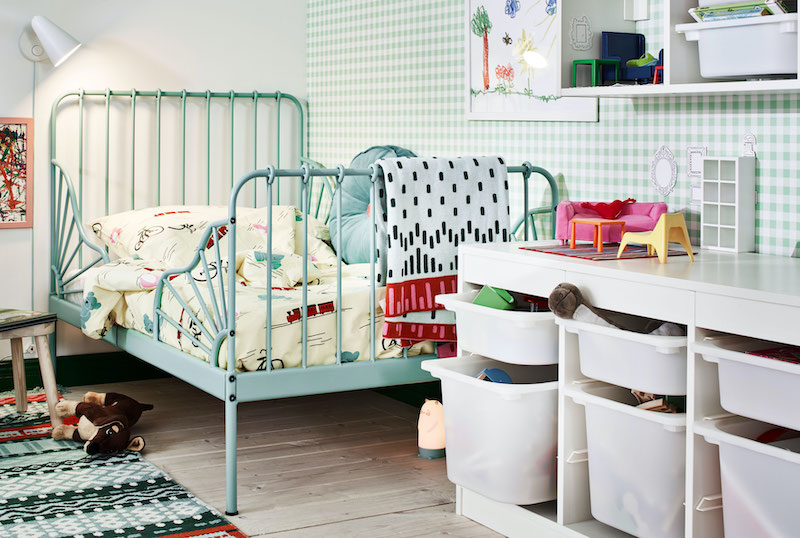 Nuevo catálogo IKEA 21 niños, vuelta al cole: cama extensible.