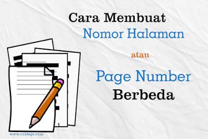Mudah Banget! Cara Membuat Format Nomor Halaman Berbeda di Microsoft Word 2013