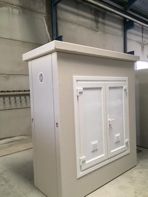 imagen de armario hormigón para cuadros eléctricos