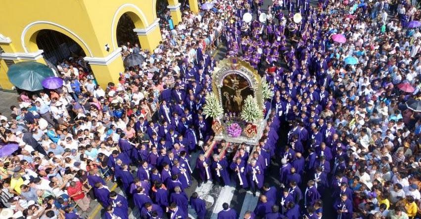 SEÑOR DE LOS MILAGROS 2017: Primera salida del cristo moreno será el sábado 7 de octubre - Iglesia Las Nazarenas