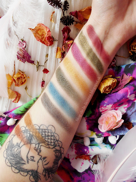 Makeup Revolution Tammi Tropical Paradise recenzia