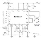 NJM3771 Stepper Motor Application