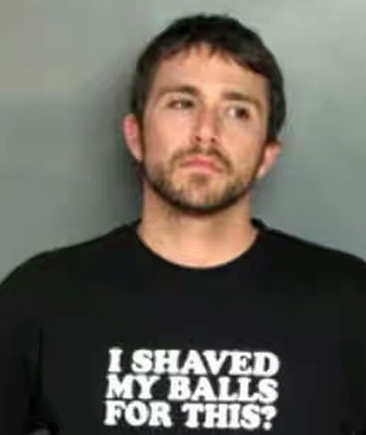 Photos of unfortunate suspects arrested wearing the wrong clothes at the wrong time