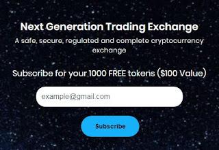 Gratis Bonus Crypto Airdrop 1000 BEX ($100) - BTCExch