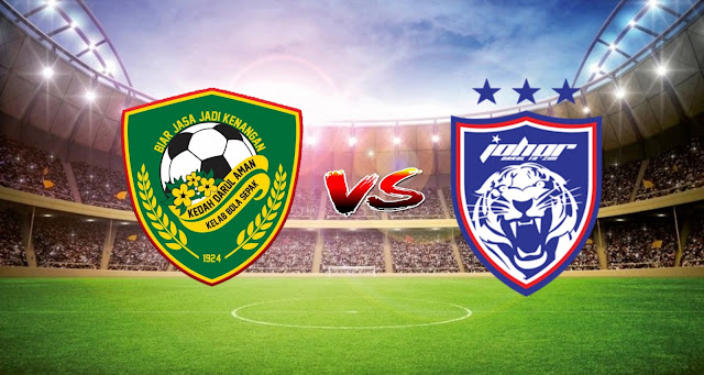 Live Streaming Kedah FC vs JDT FC 4.5.2021 Liga Super