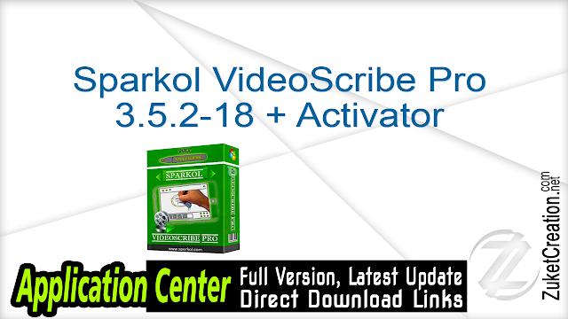 Sparkol VideoScribe Pro 3.5.2-18 + Activator Application Full Version