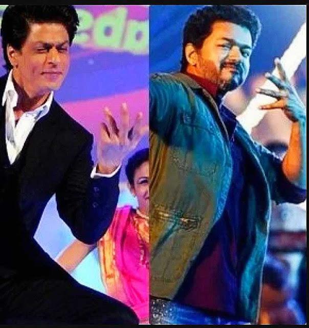 TAMIL MOVIE BIGIL: Shah Rukh Khan playing DANCE with Vijay tamilmoviesreviews.com