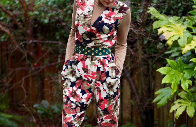 Fake Fabulous | Floral Jumpsuit.