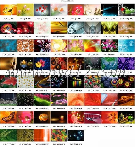JPEG Backgrounds