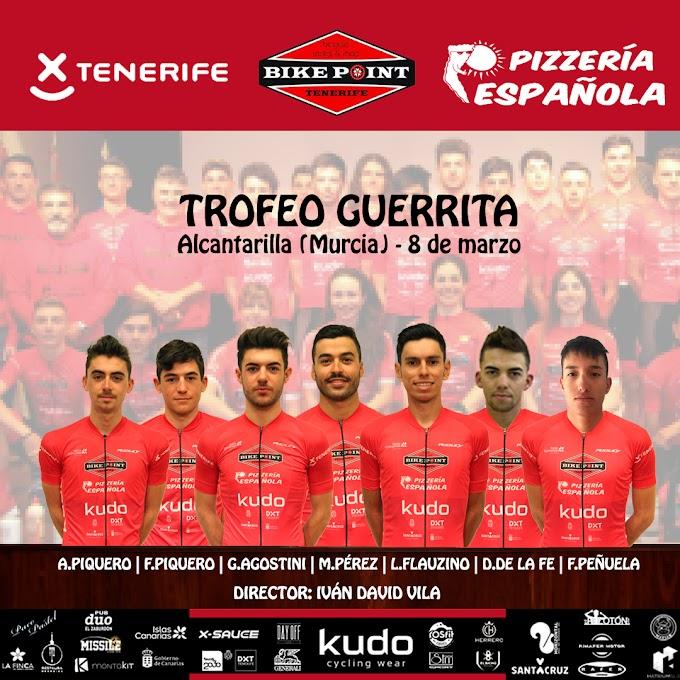 El Trofeo Guerrita será la siguiente parada del Tenerife BikePoint Pizzería Española