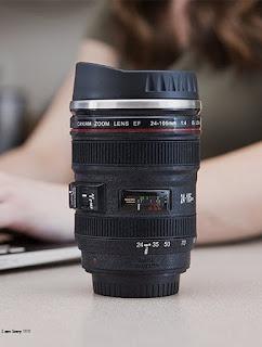 Gift for men - Camera Lens Plastic Coffee Mug