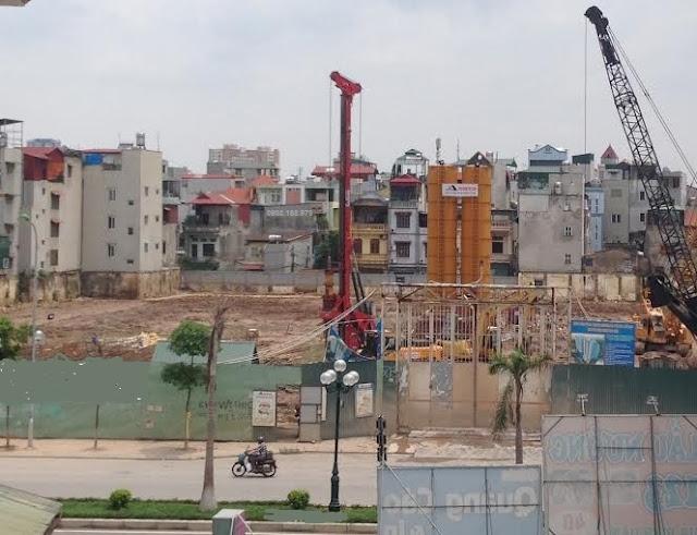 Tiến độ xây dựng chung cư Hòa Phát Trương Định