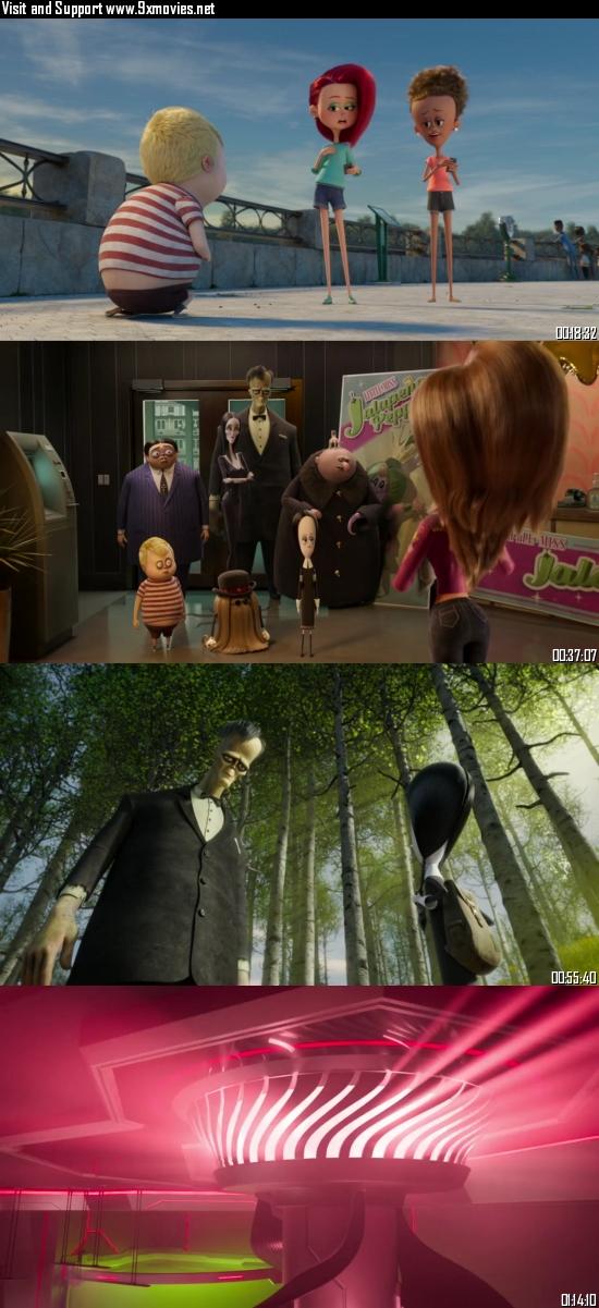 The Addams Family 2 (2021) English 720p 480 WEB-DL [750MB 280MB] ESubs