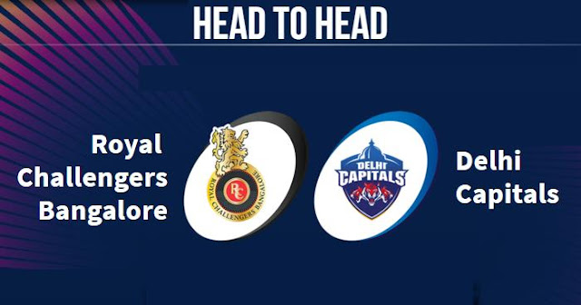 RCB vs DC Head to Head: DC vs RCB Head to Head IPL Records: IPL 2019