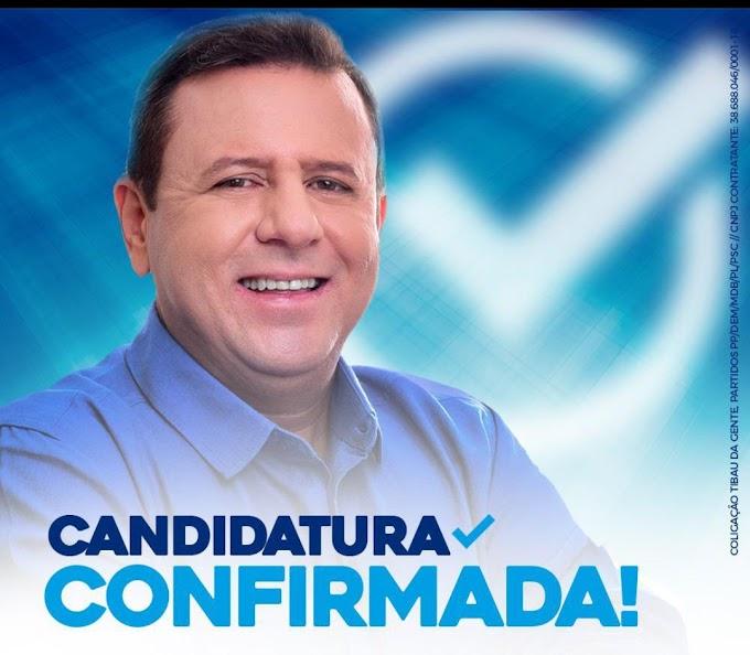 TIBAU: Haroldo tem registro de candidatura deferido pela Justiça Eleitoral
