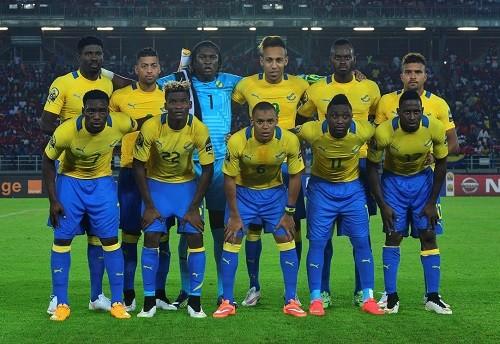 Gabon national team line up