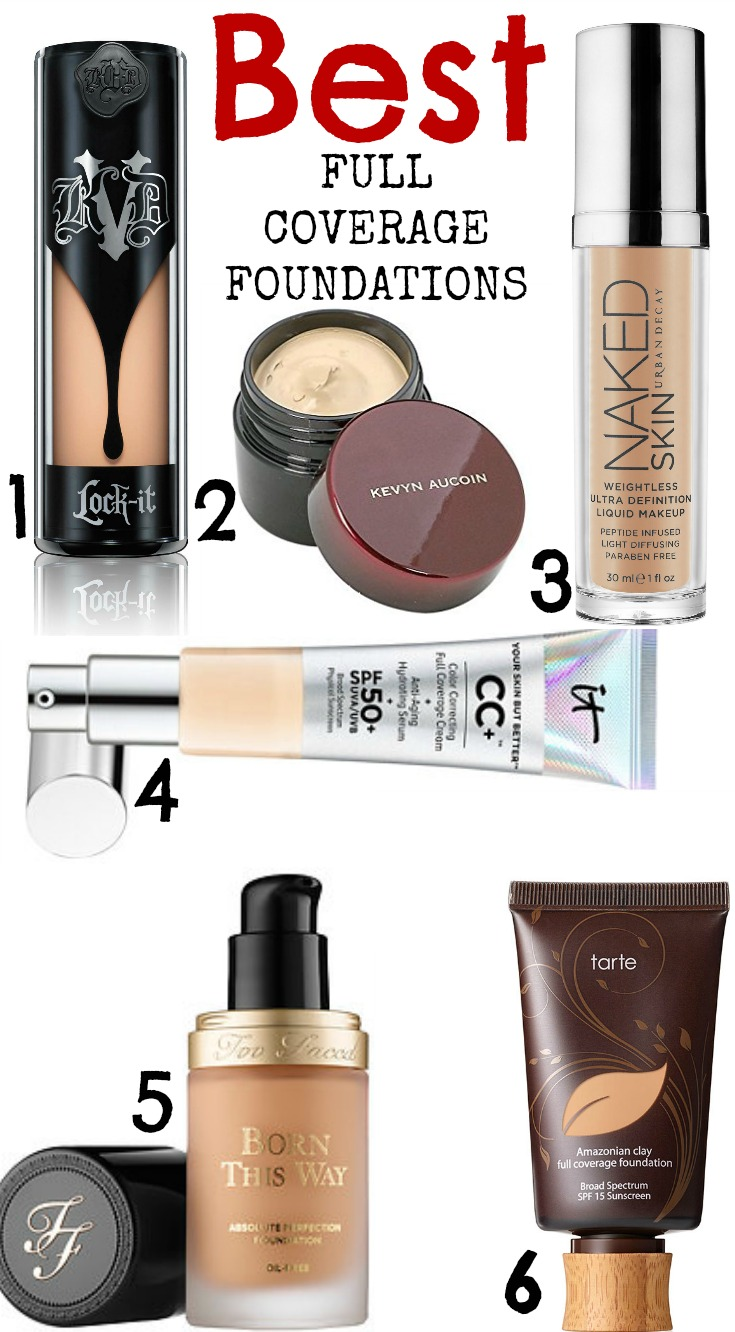 Best Coverage Foundations Cruelty
