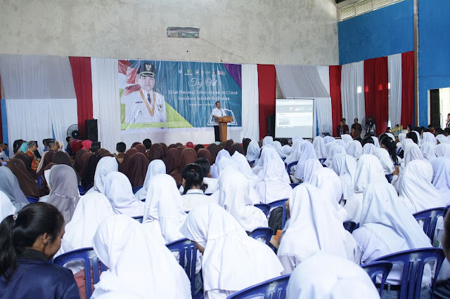 Plt Bupati Muba Motivasi Siswa SMA Tingkat Akhir