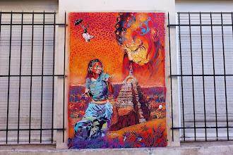 Sunday Street Art : Adey - rue du Retrait - Paris 20