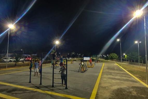 Em Natal, alameda Marinho Chagas ganha novo projeto de iluminação