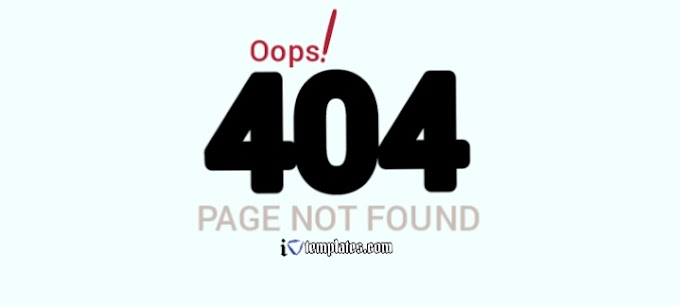 Blogger Error 404: What Does SEO Optimized 404 Page Looks Like?