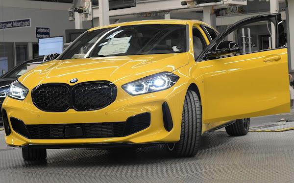 BMW Série 1  Yellow