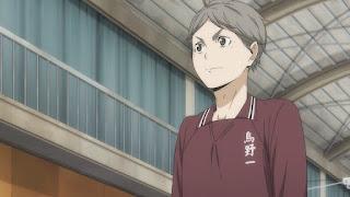 ハイキュー!! アニメ 3期6話 菅原孝支 | Karasuno vs Shiratorizawa | HAIKYU!! Season3