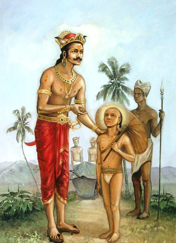 Mahabali And Vamana
