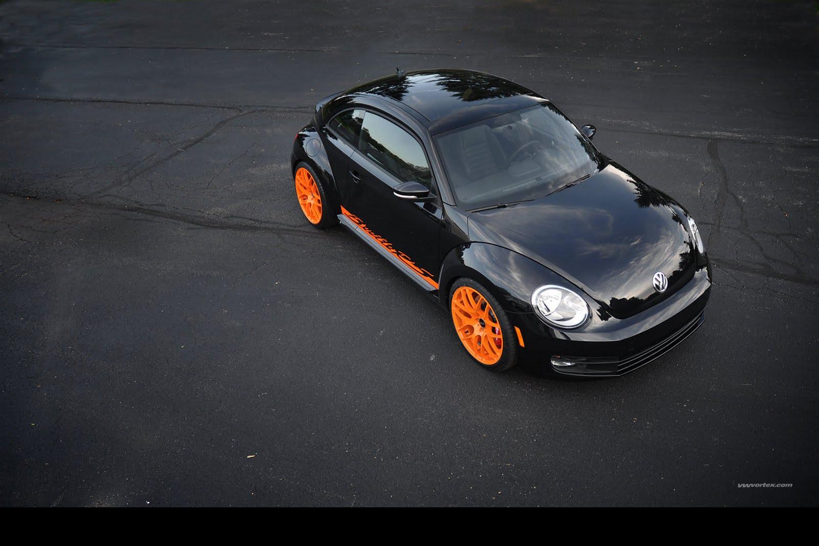 2012 Volkswagen Beetle Inspired by the Porsche 911 GT3 RS   Auto