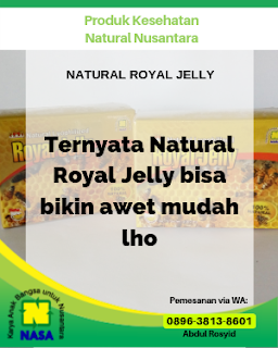 Natural Royal Jelly 20 Kapsul