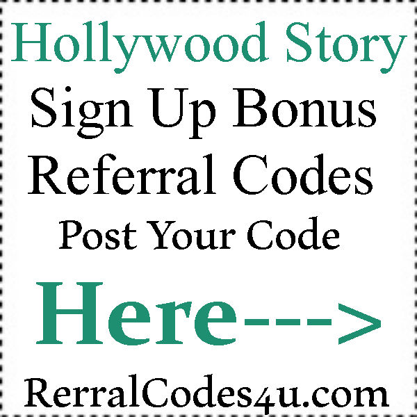 Hollywood Story App Referral Codes 2016-2021, Hollywood Story App Mobile Download Android and Iphone