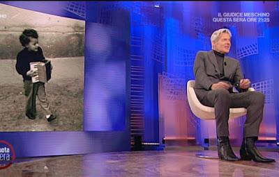 Claudio Baglioni foto da bambino da noi a ruota libera