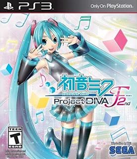 Hatsune Miku Project DIVA F 2nd PS3 Torrent