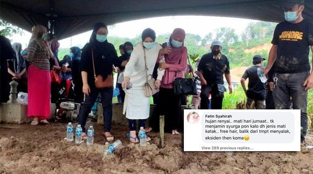 'Wow! Biadabnya saudari!' - Netizen selar komen individu berbaur penghinaan terhadap Allahyarham Sandra Dianne