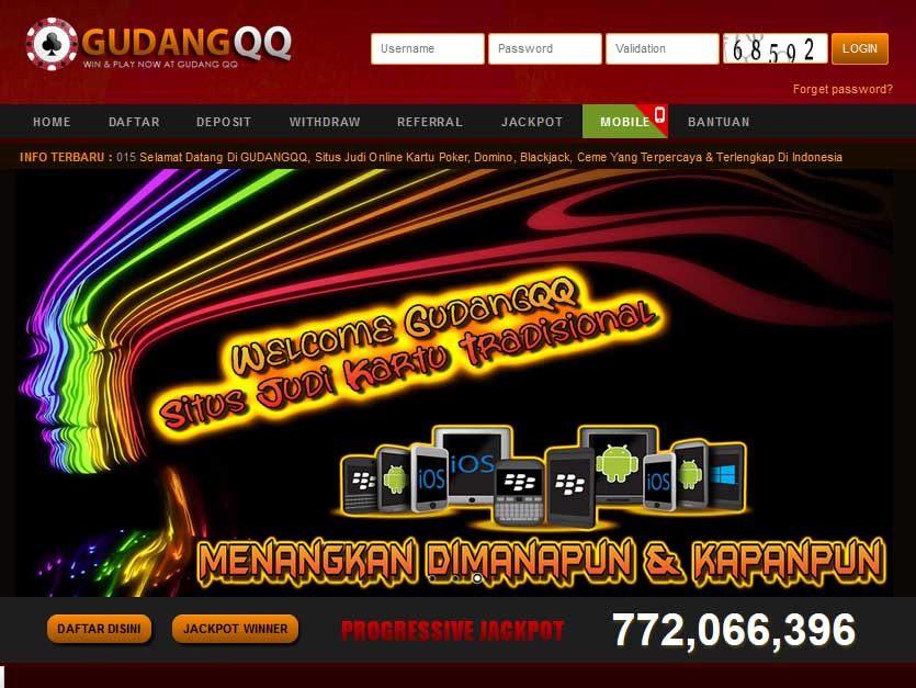 Keseruan Bermain Online Bersama Gudangqq Poker Online