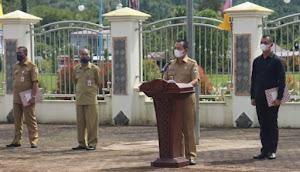 Wakil Bupati Yusman Zega Resmi Membuka Latihan Paskibraka 2021