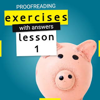proofreading exercises with answers lesson 1 by Mr.Zaki | learn English