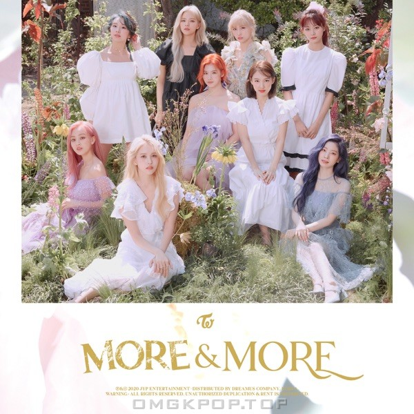 TWICE – MORE & MORE (English Version) – Single