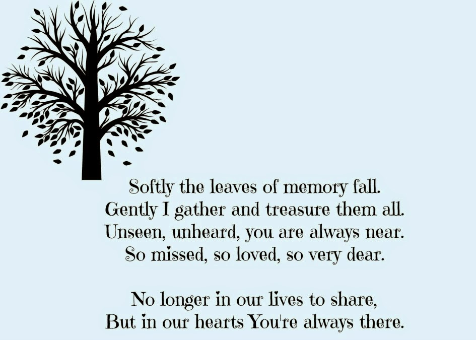 Loss, Bereavement, Missing You,