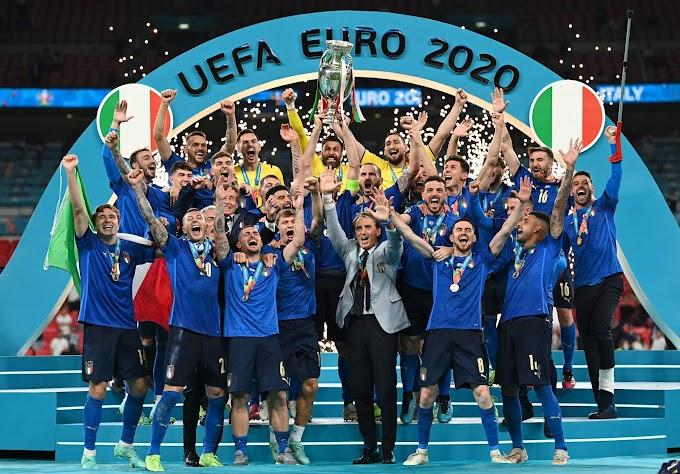 Italia campione d'Europa: Inghilterra battuta ai rigori