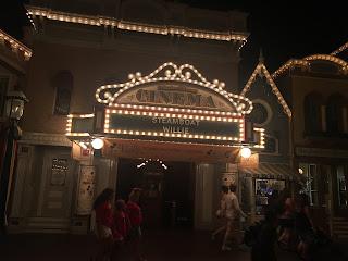 Main Street Disneyland at Night Disneyland