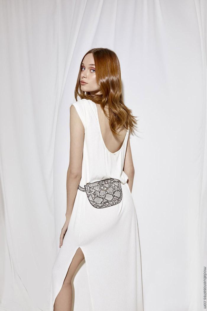 Moda primavera verano 2020 ropa de moda mujer vestidos.